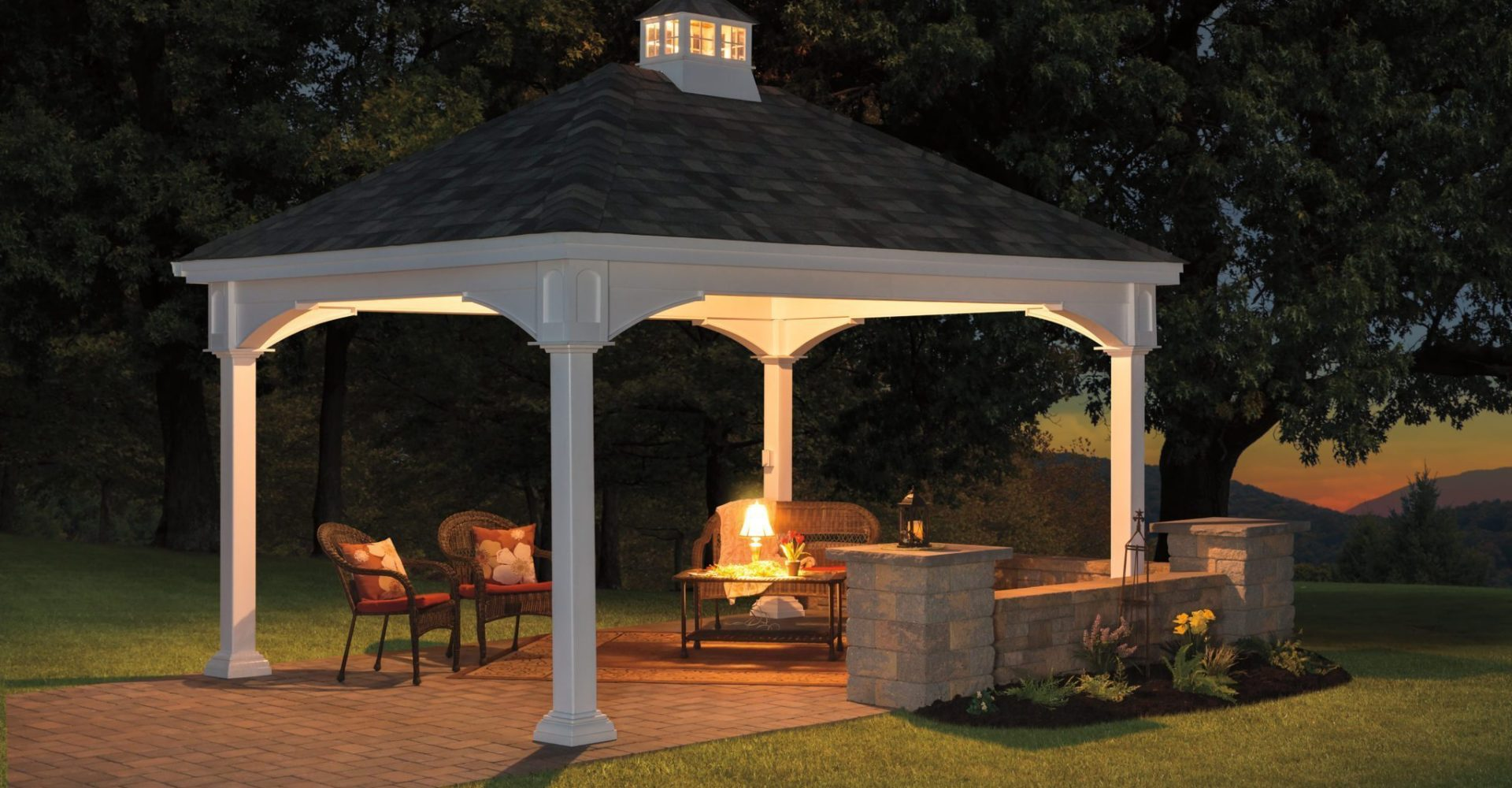 Authentic Amish Gazebos Pergolas Amp Pavilions Creative